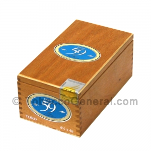 Cusano 59 Rare Cameroon Toro Cigars Box of 18