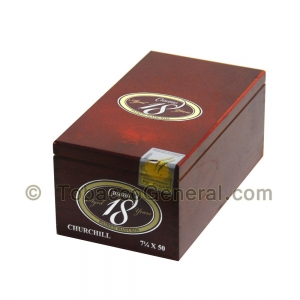 Cusano Aged 18 Churchill Maduro Cigars Box of 18
