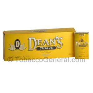 Deans Vanilla Filtered Cigars 10 Packs of 20