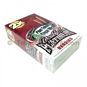 Double Platinum Wraps 2X Berries 25 Packs of 2
