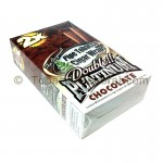 Double Platinum Wraps 2X Chocolate 25 Packs of 2 - Tobacco Wraps