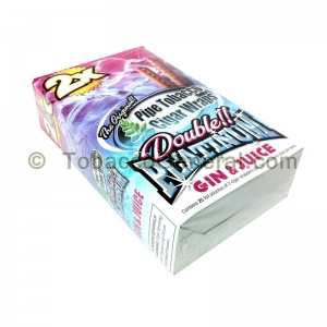 Double Platinum Wraps 2X Gin & Juice 25 Packs of 2