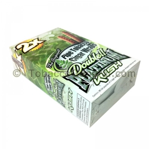 Double Platinum Wraps 2X Kush 25 Packs of 2