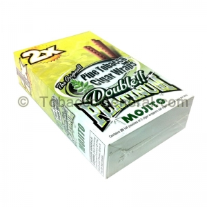 Double Platinum Wraps 2X Mojito 25 Packs of 2