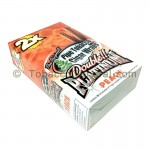 Double Platinum Wraps 2X Peach 25 Packs of 2 - Tobacco Wraps