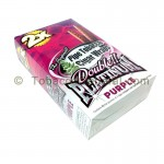 Double Platinum Wraps 2X Purple 25 Packs of 2 - Tobacco Wraps
