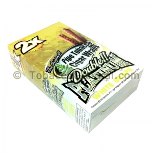 Double Platinum Wraps 2X White Grape 25 Packs of 2