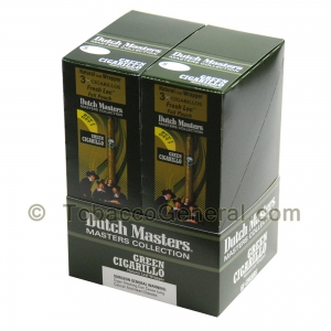 Dutch Masters Foil Pre Priced Cigarillos Green 20 Packs of 3