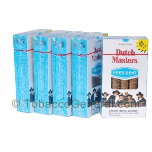 Dutch Masters President Cigarillos 5 Packs of 5