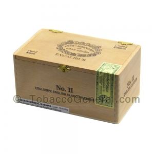 Excalibur No. 2 Cigars Box of 20