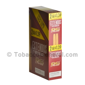 Extendos Cigarillos OG Pre Priced 15 Packs of 2