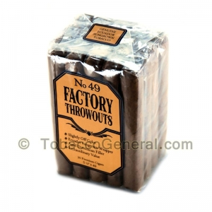 Factory Throwouts No. 49 Premium Cigars Bundle of 20