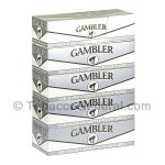 Gambler Filter Tubes King Size Silver 5 Cartons of 200 - All