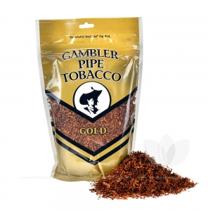 Gambler Pipe Tobacco Gold Mellow 6 oz. Pack