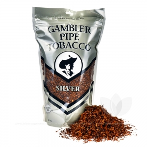 Gambler Pipe Tobacco Silver 16 oz. Pack