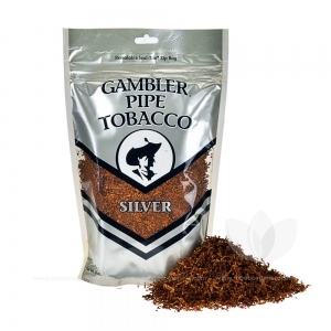 Gambler Pipe Tobacco Silver 6 oz. Pack