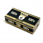 Gambler Tube Cut Filter Tubes 100 mm Gold (Light) 5 Cartons of 200