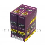 Game Cigarillos Foil 2 for 99 Cents 30 Packs of 2 Cigars Grape