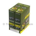 Game Cigarillos Foil 2 for 99 Cents 30 Packs of 2 Cigars Green