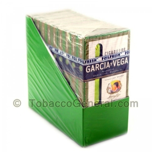 Garcia Y Vega Cigarillos 10 Packs of 5