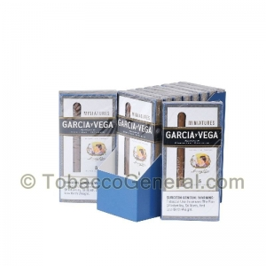 Garcia Y Vega Miniatures Cigarillos 10 Packs of 5