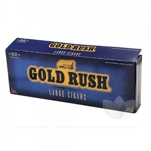 Gold Rush Blue Filtered CIgars 10 Packs of 20