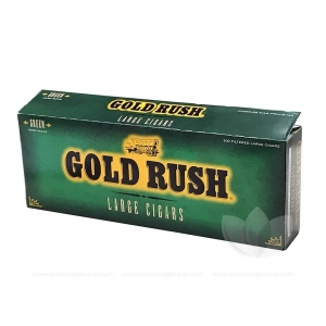 Gold Rush Green Filtered CIgars 10 Packs of 20