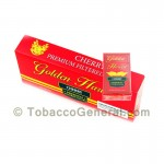 Golden Harvest Cherry Filtered Cigars 10 Packs of 20 - Filtered and