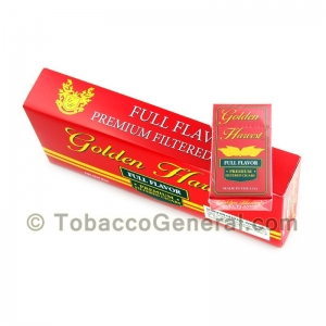 Golden Harvest Full Flavor Filtered Cigars 10 Packs of 20