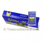 Golden Harvest Light Filtered Cigars 10 Packs of 20 - Filtered and