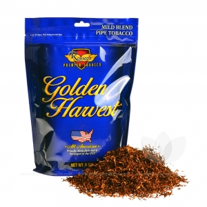 Golden Harvest Mild Blend Pipe Tobacco 6 oz. Pack