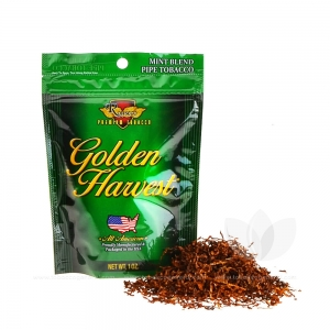 Golden Harvest Mint Blend Pipe Tobacco 1 oz. Pack