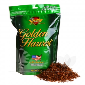 Golden Harvest Mint Blend Pipe Tobacco 16 oz. Pack