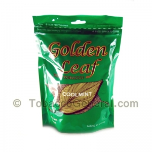 Golden Leaf CoolMint Pipe Tobacco 6 oz. Pack