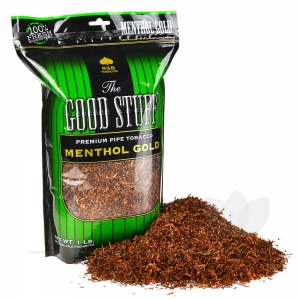 Good Stuff Menthol Gold Pipe Tobacco 16 oz. / 1 Lb Pack