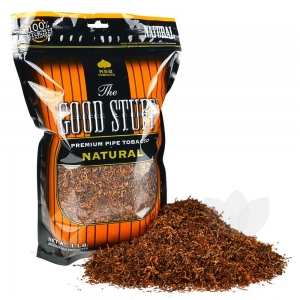 Good Stuff Natural Pipe Tobacco 16 oz. / 1 Lb Pack