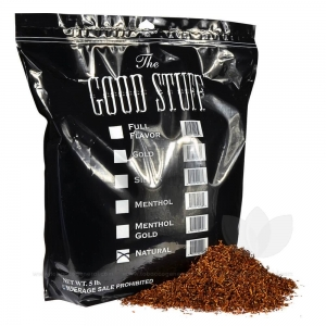 Good Stuff Natural Pipe Tobacco Bulk 5 Lb. Pack