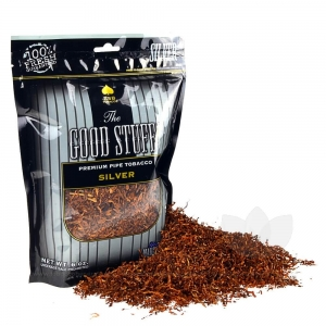 Good Stuff Silver Pipe Tobacco 6 oz. Pack