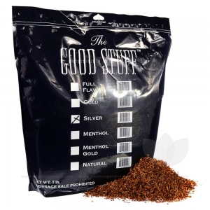Good Stuff Silver Pipe Tobacco Bulk 5 Lb. Pack