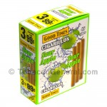 Good Times Cigarillos Sour Apple 3 for 99 Cents Pre Priced 15 Packs of 3