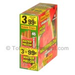 Good Times Cigarillos Watermelon 3 for 99 Cents Pre Priced 15 Packs of 3