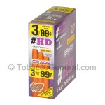 Good Times HD Cigarillos Grape 3 for 99 Cents Pre Priced 15 Packs of 3