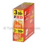 Good Times HD Cigarillos Red 3 for 99 Cents Pre Priced 15 Packs of 3