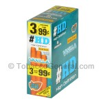 Good Times HD Cigarillos Vanilla 3 for 99 Cents Pre Priced 15 Packs of 3