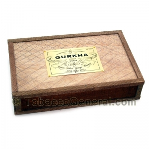 Gurkha Vintage Shaggy Robusto Dominican Cigars Box of 25