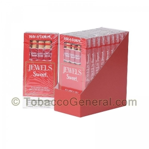 Hav-a-Tampa Jewels Sweet Cigars 10 Packs Of 5