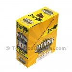Jackpot Cigarillos 99 Cents Pre Priced 15 Packs of 3 Cigars Pineapple
