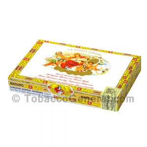 La Gloria Cubana Wavell Maduro Cigars Box of 10
