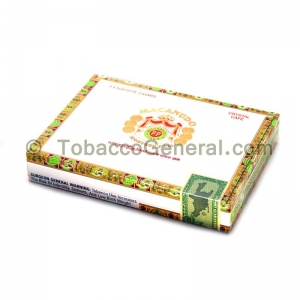 Macanudo Crystal Cafe Cigars Box of 8