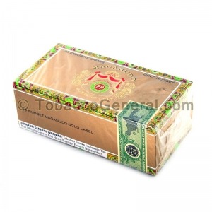 Macanudo Gold Label Gold Nugget Cigars Box of 25